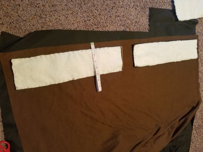 Sewing the Edges + Adding Linen