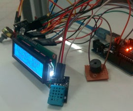 """DIY"" Room Temperature & Humidity Module using Arduino uno"