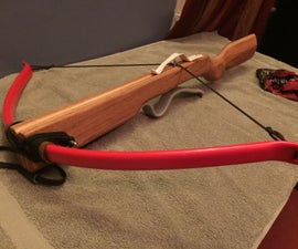 reinforced PVC crossbow with laminated stock