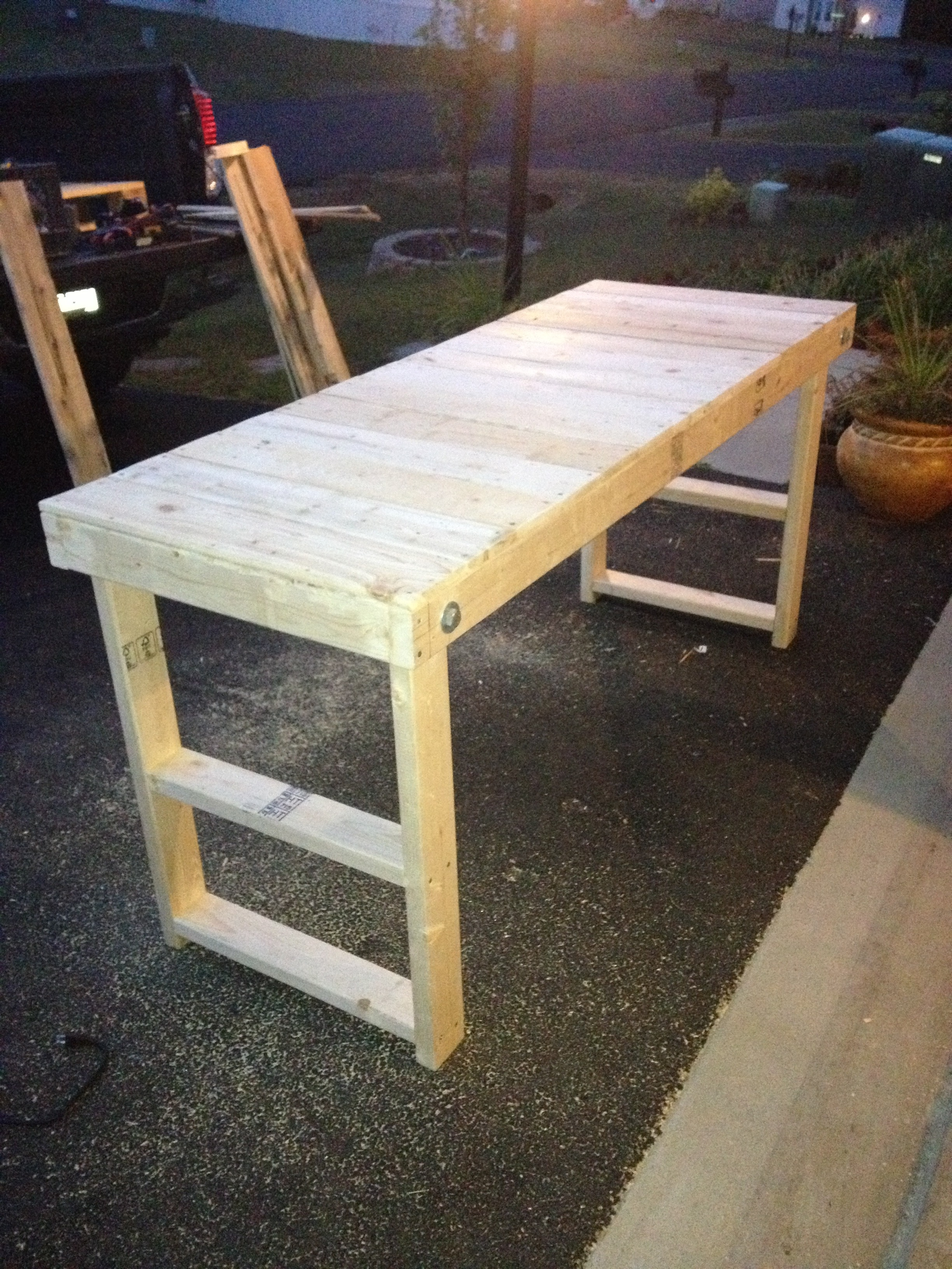 Outstanding Easy Cheap Folding Workbench 5 Steps Caraccident5 Cool Chair Designs And Ideas Caraccident5Info