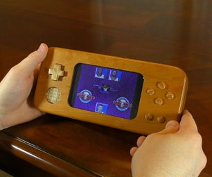 Wooden Handheld Console