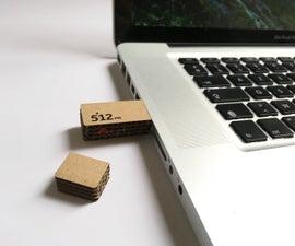 Cardboard USB Flash Drive (Packaging)