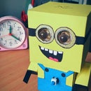 Minion Cubecraft Toy  (A Flashlight Toy)