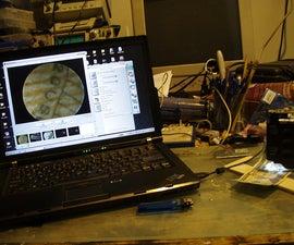30 minute USB microscope