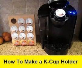 How to Make Custom K-Cup Holders