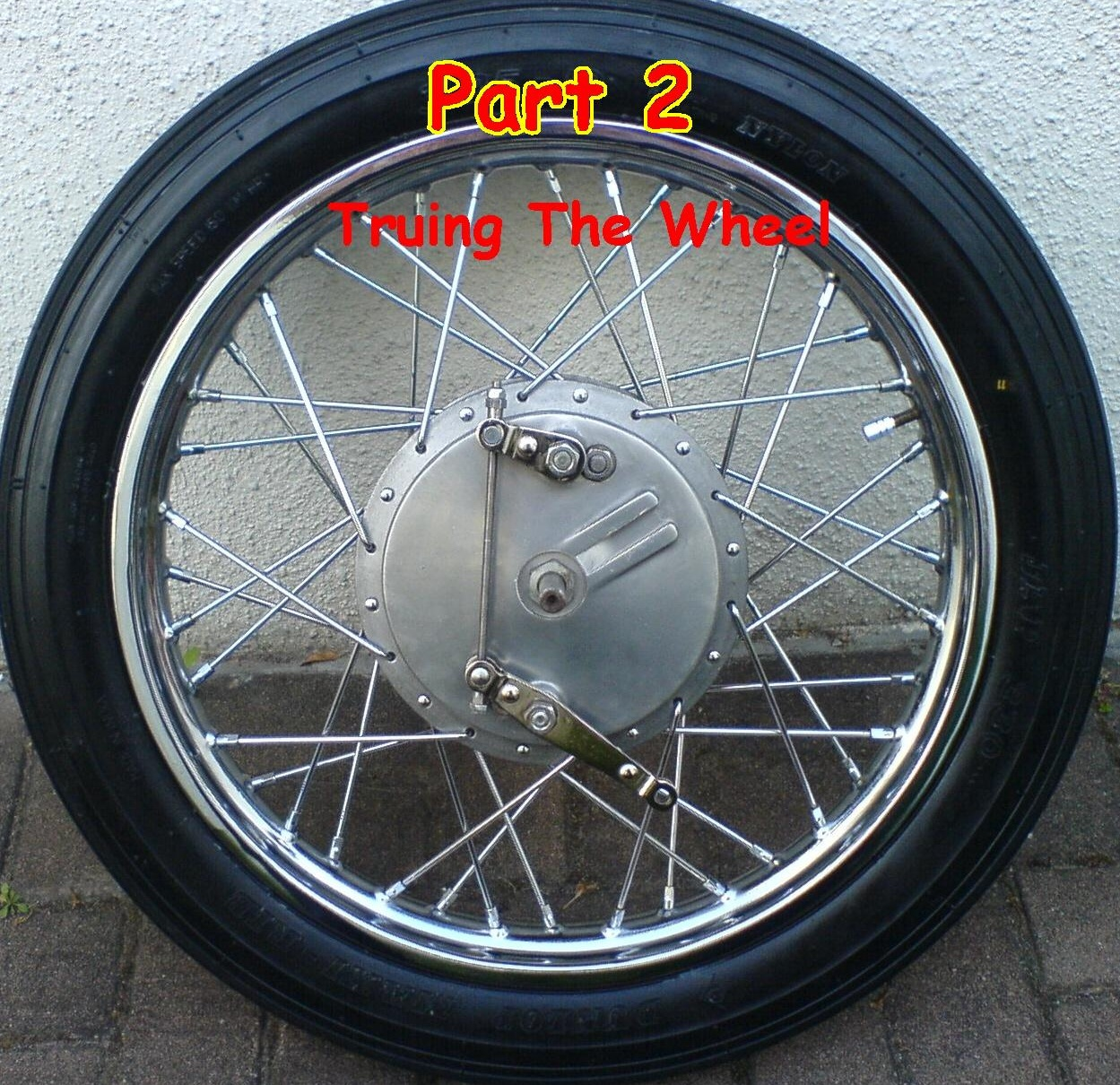 Picture of Rebuilding a Spoked Wheel for the Royal Enfield Bullet:Part 2
