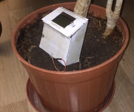Flower Manager With Arduino, 5110 and 3 Sensors