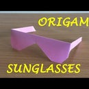 How to Make Traditional Origami Sunglasses