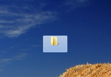 Picture of Invisible Folders Windows 7 or Windows Vista