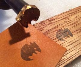 Custom electric branding iron