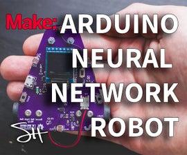 Arduino Neural Network Robot