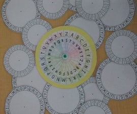 Wheel of Cipher and Color
