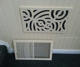Laser Cut Wall Vent Cover