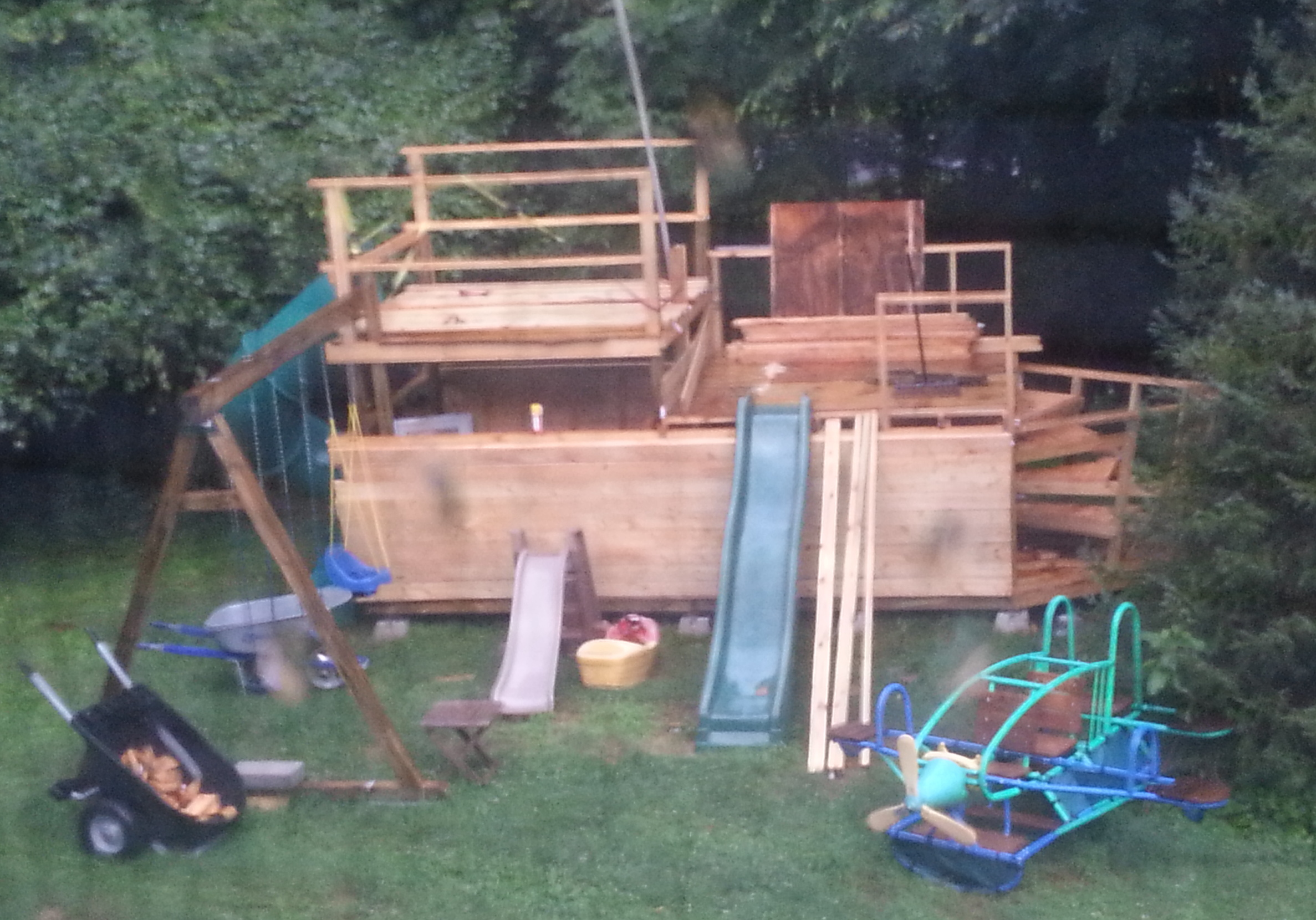 Picture of Add the Swingset and Start Figuring Out Slides