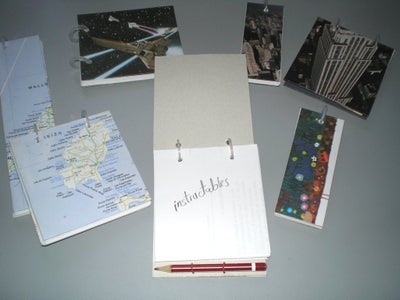 Totally Recycled Notepad With Pencil / Bloc De Notas Con Lapiz