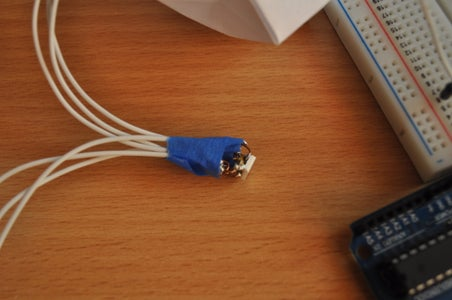 Soldering the LEDs