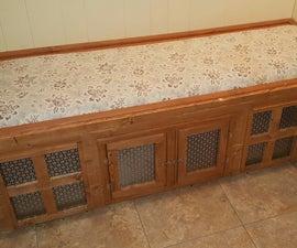 Mudroom Bench / Dog House