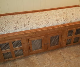 Mudroom Bench / Dog House