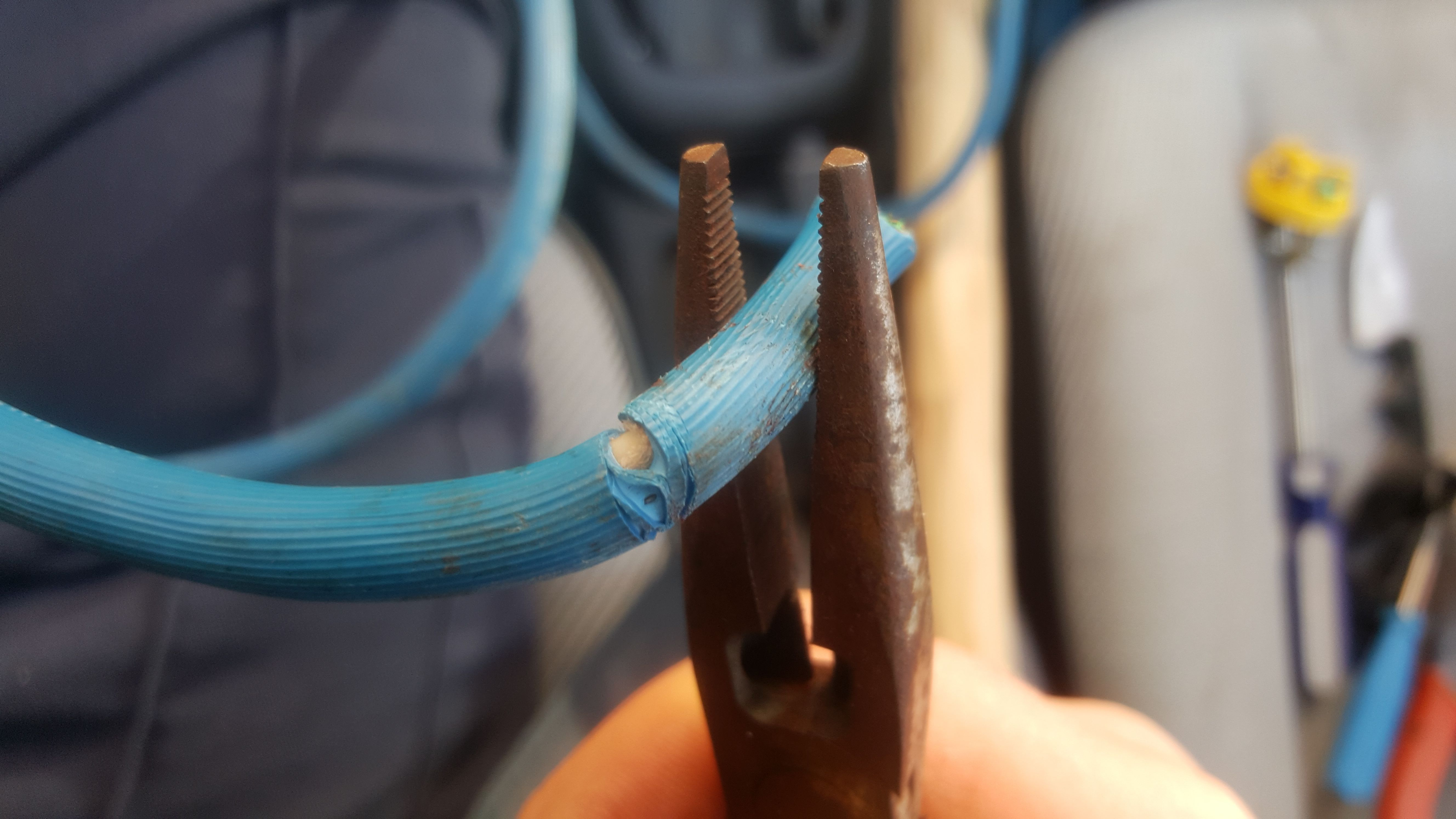 Picture of Prepare 3 Inner Wires. EASY!