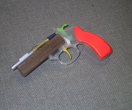 Cap-powered Airsoft Duelling Pistol