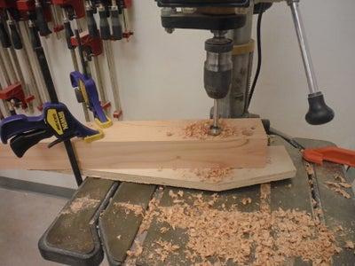 Cutting Tiller to Shape: