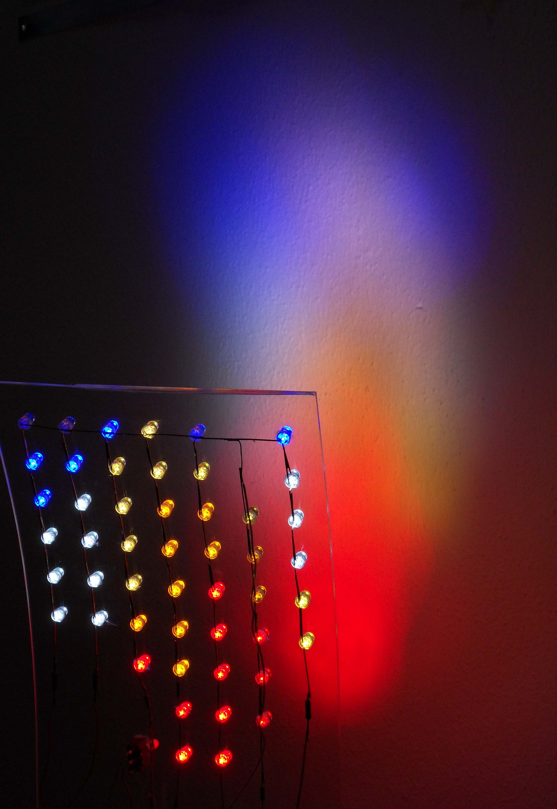 Picture of A Sunrise and Sunset Lamp With LEDs