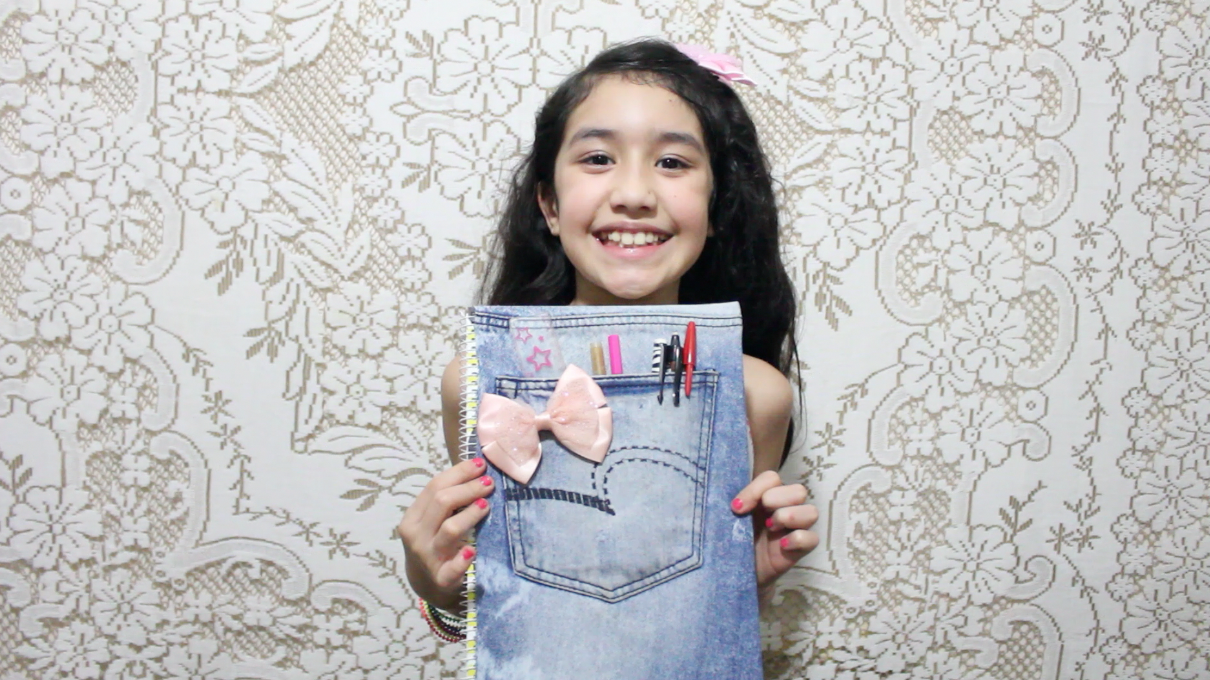 Picture of Back to School Crafts With Old Jeans