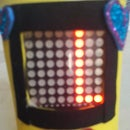 DIY Moving Message Using LED Matrix