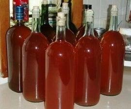 Tasty Homemade Strawberry Wine Recipe