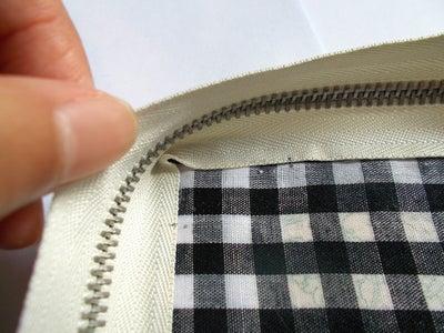 Attaching Zipper