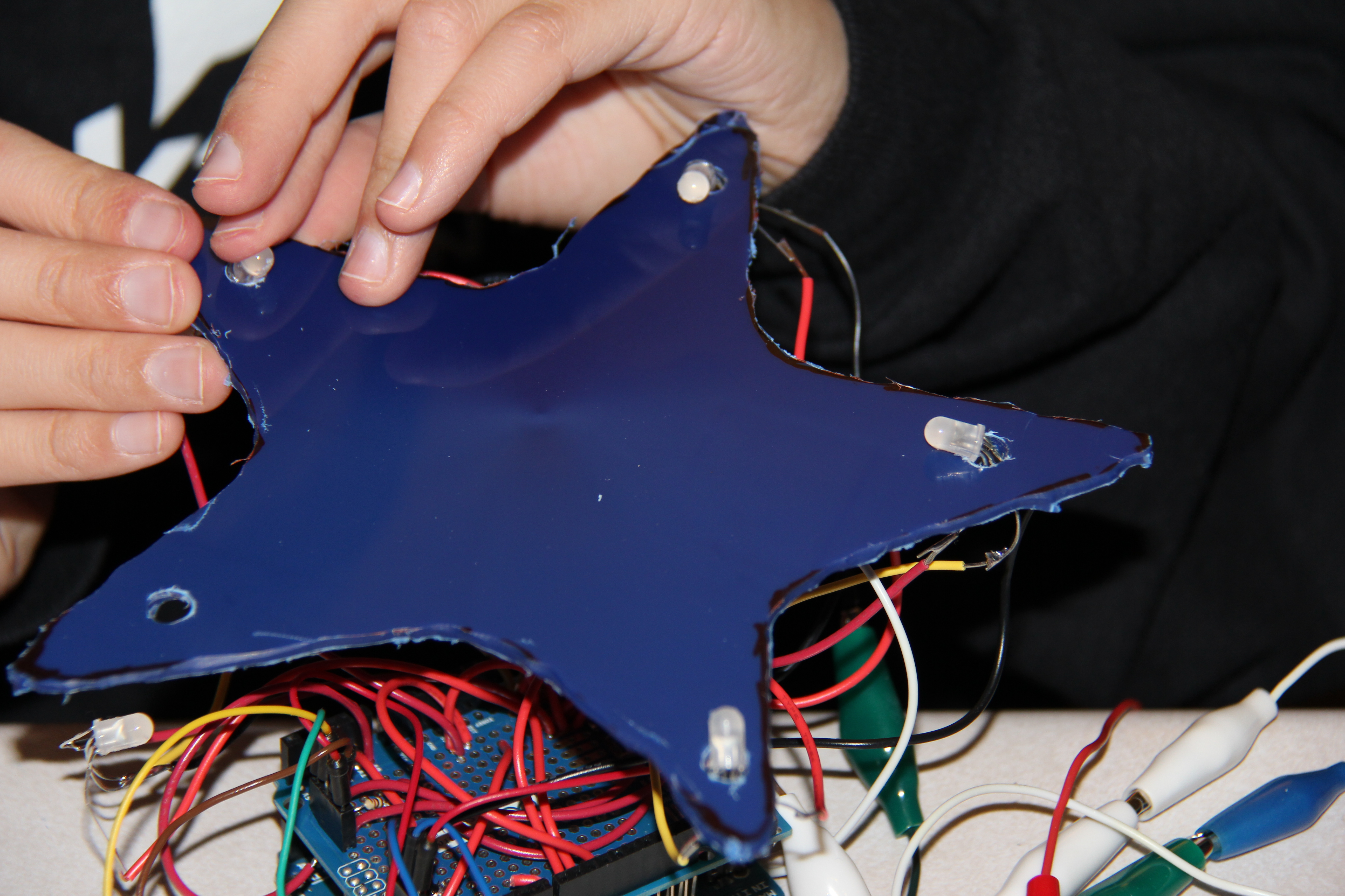 Picture of Hot Gluing