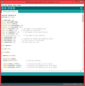 The Arduino Code