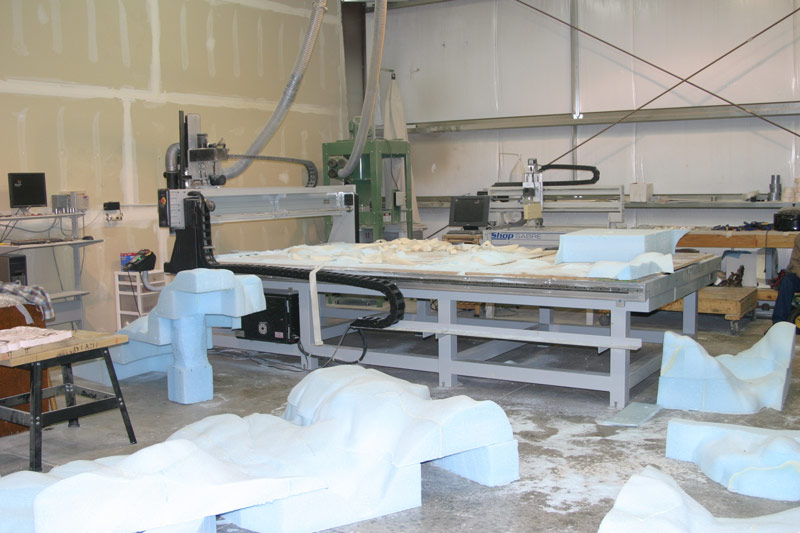 Picture of CNC Foam Monument
