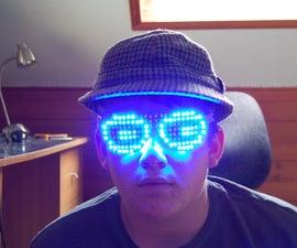 LED Matrix Glasses: First Prototype