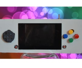 PiSP Pi Station Portable, A Raspberry Pi Gaming Handheld
