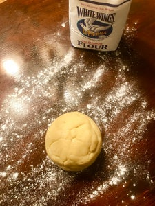 Prepare Dough for Cookie Cutting