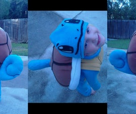 Squirtle Costume