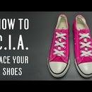 How to C.I.A. lace your shoes