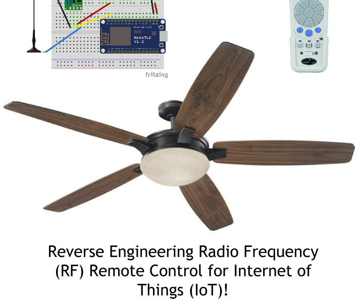 Harbor Breeze Ceiling Fan Remote Change Frequency Shelly