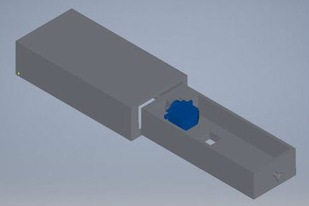 Created a 3-D Model on the Computer