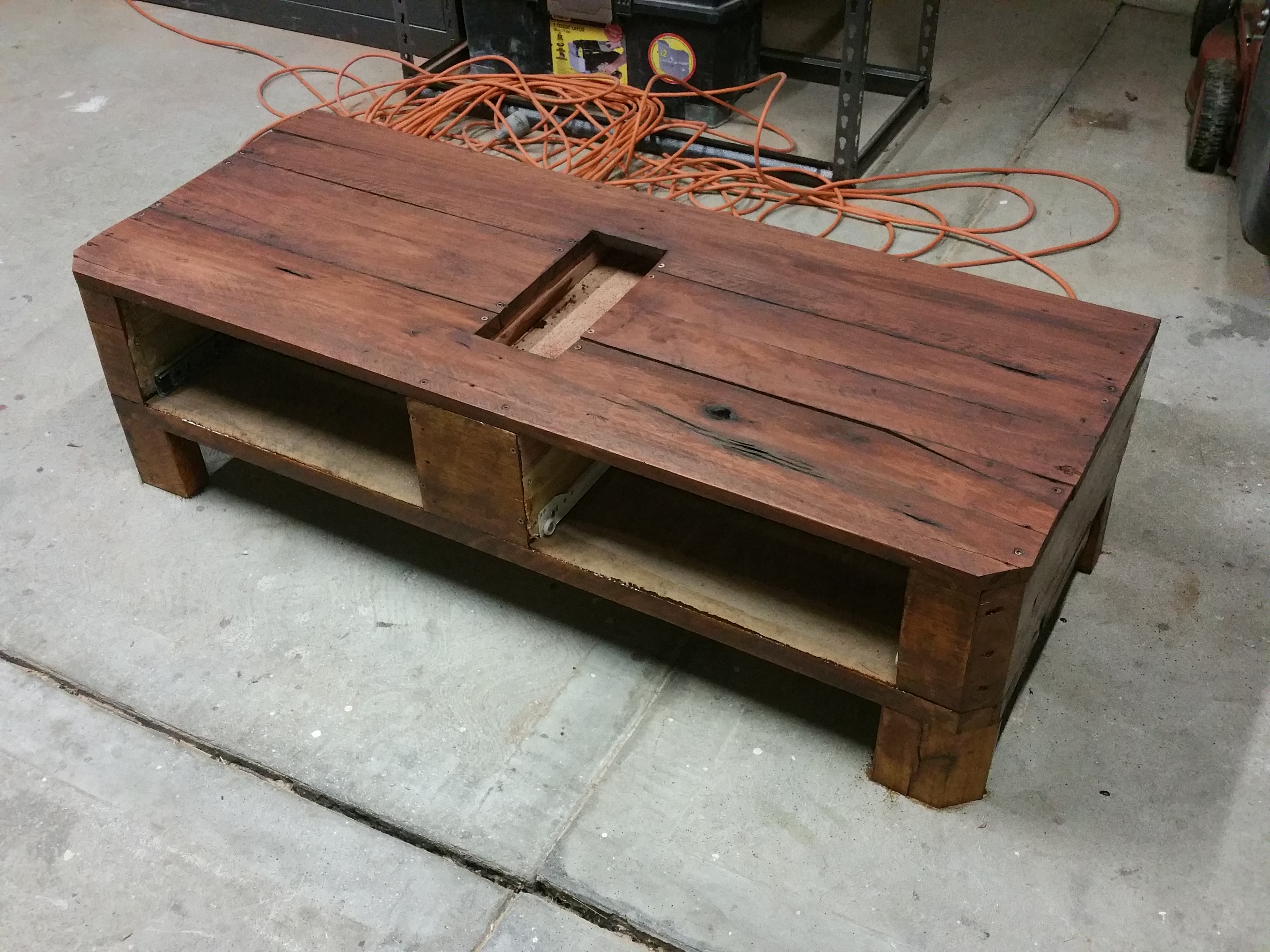 Picture of Staining the Table