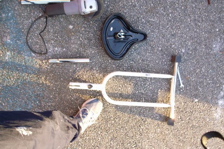 Cut the Seat Post