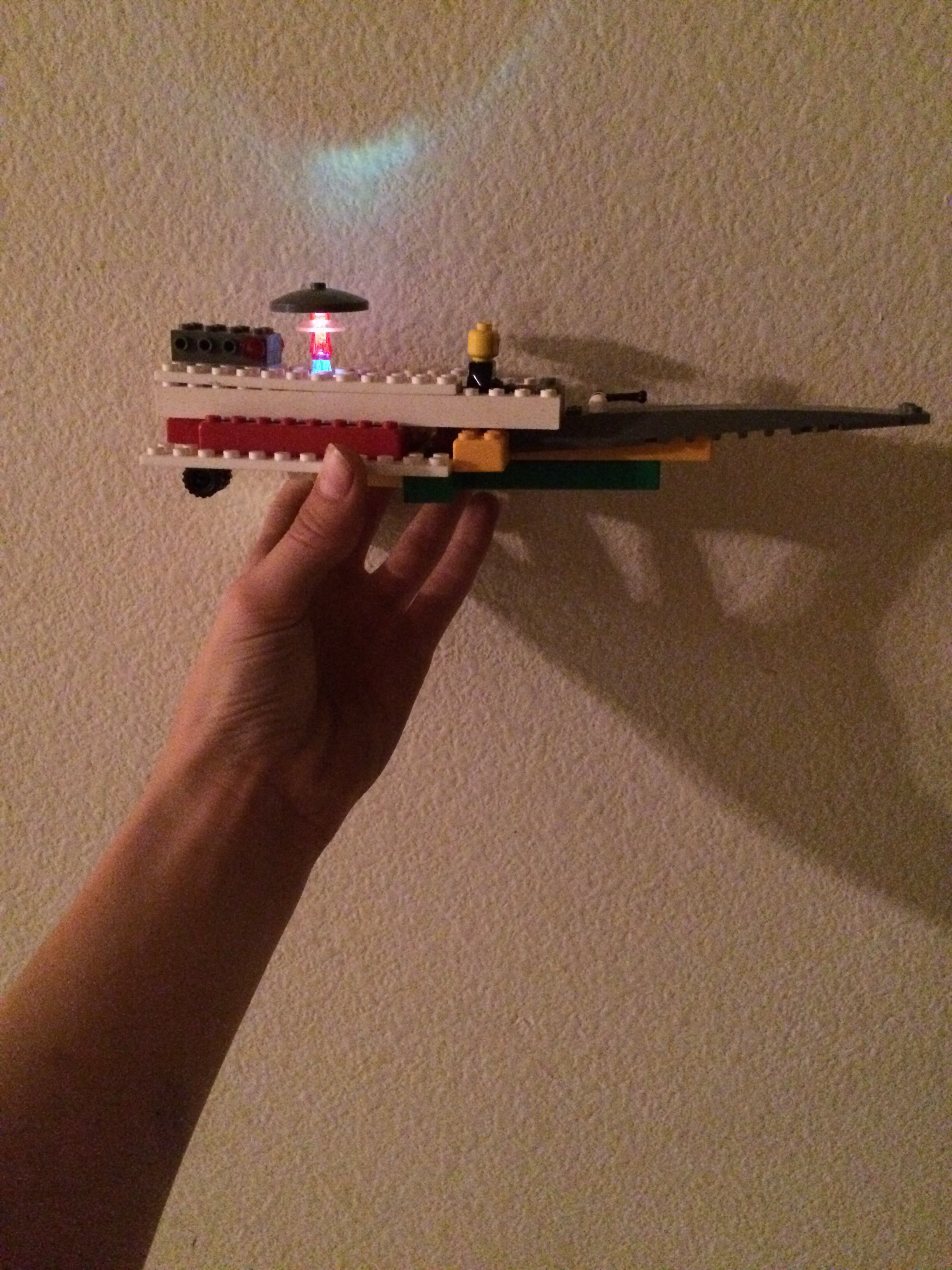Picture of Lego Light Up Spacecraft