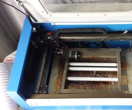 Laser Cutter, RD Works, Rotational Axis Proper Use