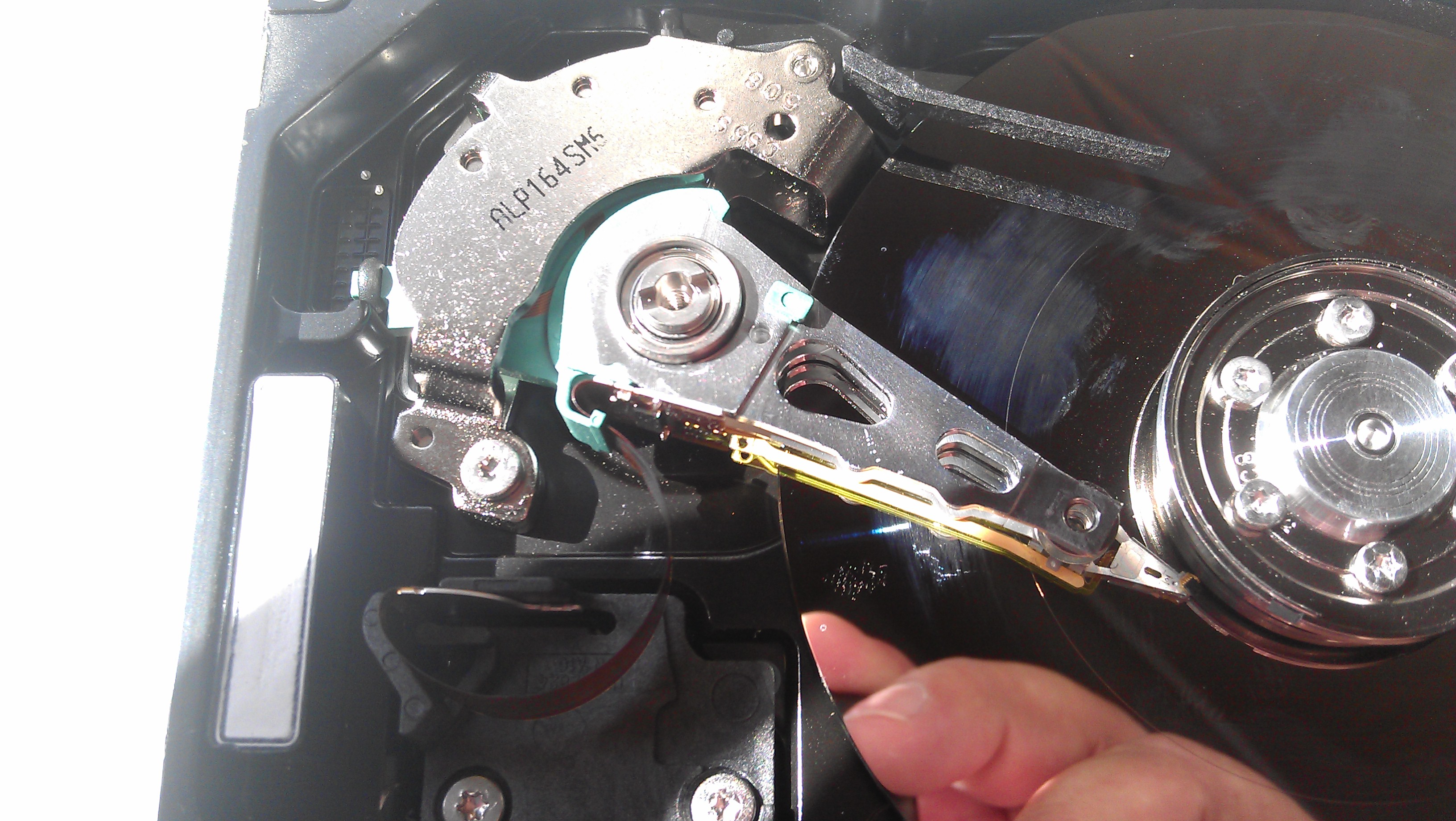 Picture of HDD Dismantling