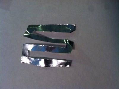 Cutting the Foil.