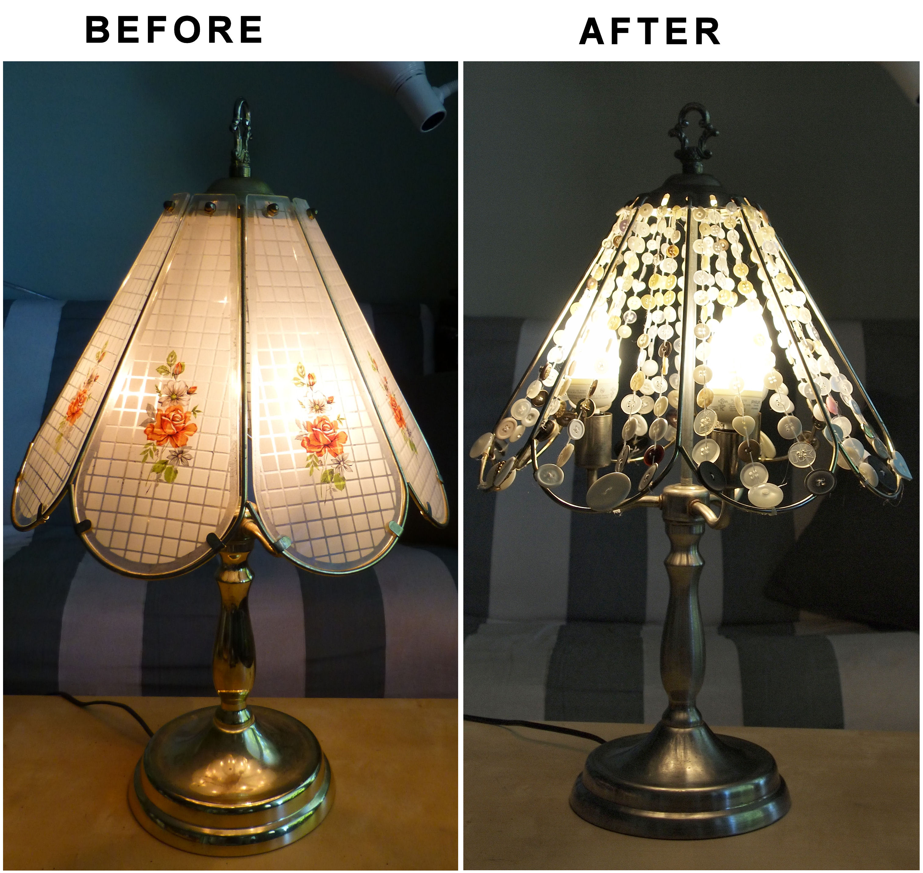 Picture of Table Lamp Makeover