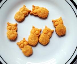 Goldfish-Inspired Owl Crackers