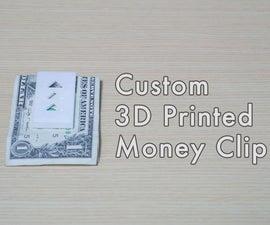 3D Printed Money Clip