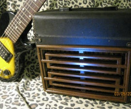 A Fun DIY Amplifier- the Monstrocity- the Organ Donor Project Part 3